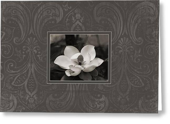 Magnolia Art Greeting Card