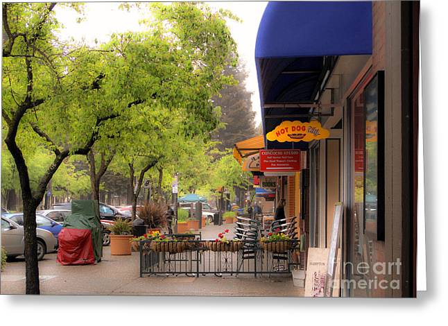 Greeting Card featuring the photograph Main Street by Leslie Hunziker