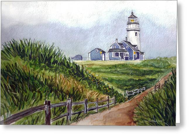 Maine Light Greeting Card