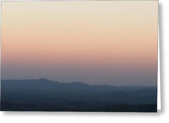Majestic Blue Ridge Mountains Greeting Card by Elizabeth Coats
