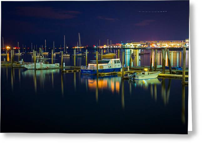 Majestic Boats Greeting Card by Erica McLellan