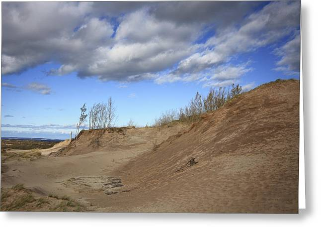 Greeting Card featuring the photograph Majestic Dunes by Patrice Zinck