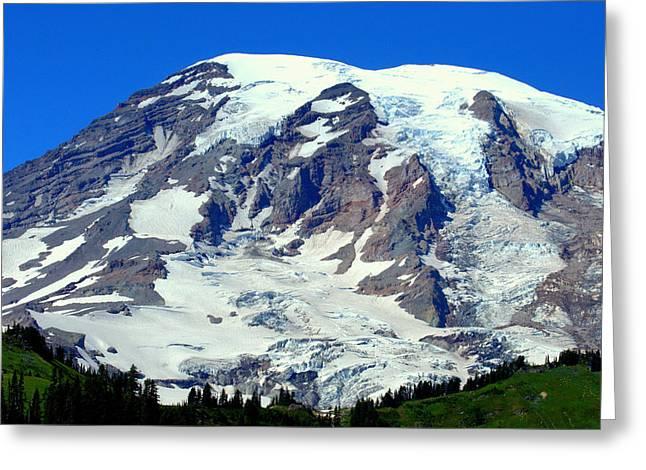 Majestic Mountain Greeting Card by Lynn Bawden