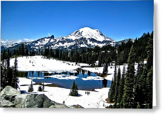 Majestic Rainier Greeting Card