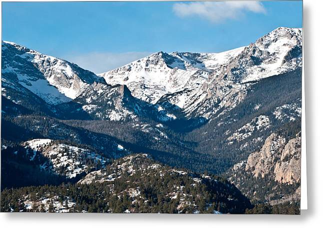 Majestic Rockies Greeting Card by Colleen Coccia