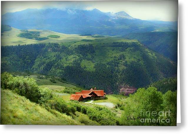 Majestic View Greeting Card