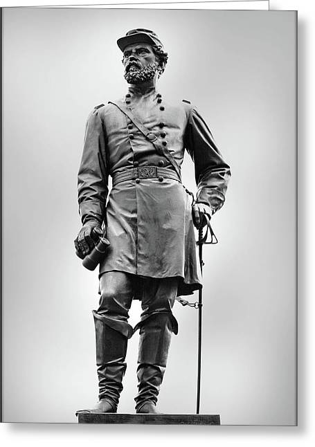Major General John Reynolds Statue At Gettysburg Greeting Card by Randy Steele