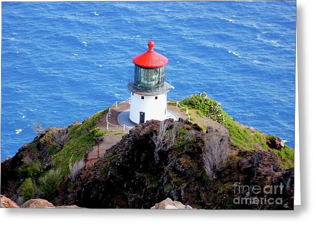 Makapupu Lighthouse Greeting Card
