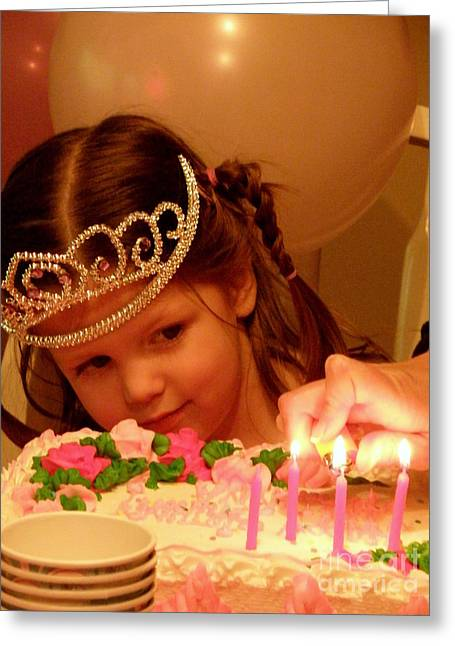 Make A Wish Greeting Card by Lainie Wrightson
