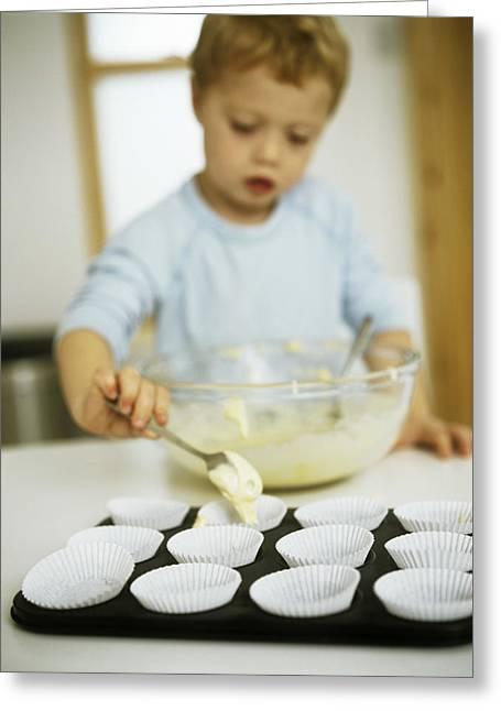 Making Cakes Greeting Card