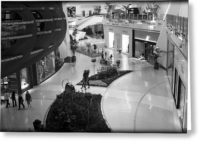 Mall Life IIi Greeting Card by Ricky Barnard