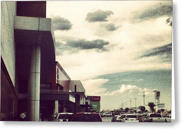 Mall... #mall #movies #car #street Greeting Card