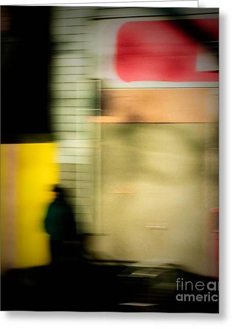 Man In The Shadows Greeting Card by Emilio Lovisa