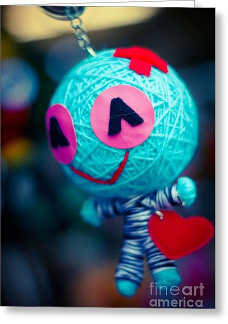 Man Of Yarn Greeting Card by Stefan Olivier