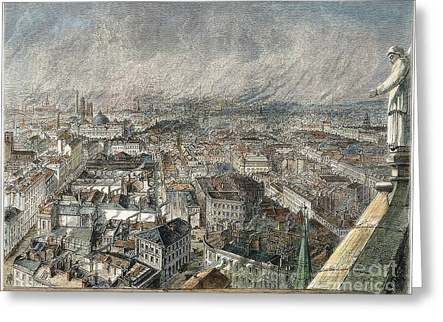 Manchester, England, 1876 Greeting Card by Granger