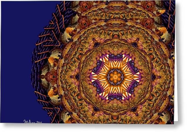 Mandala Of Pure Presence Greeting Card
