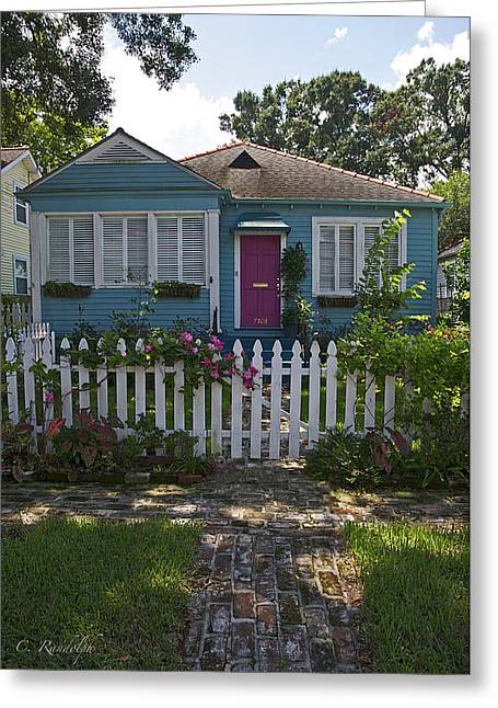 Mandevilla Cottage Greeting Card