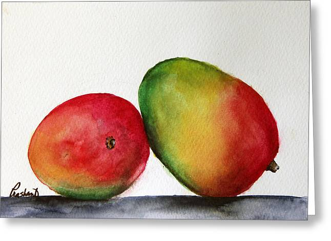 Mangos Greeting Card by Prashant Shah
