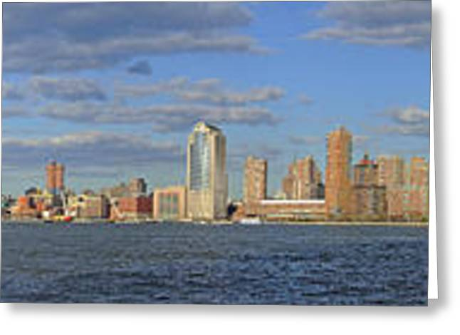 Manhattan - Hudson View Greeting Card