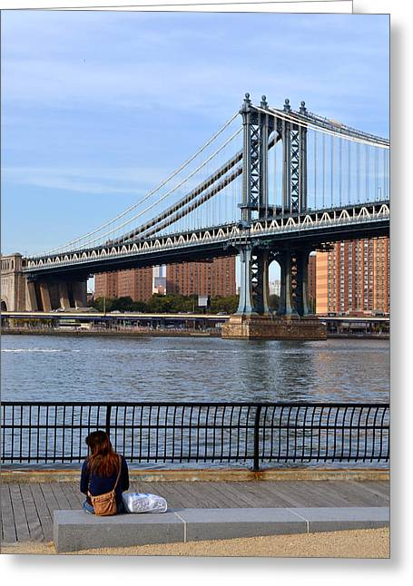 Manhattan Bridge2 Greeting Card