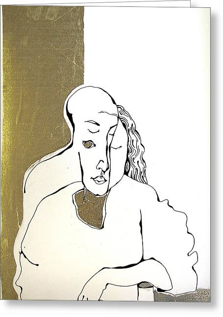 Mani Greeting Card by Nina Mirhabibi