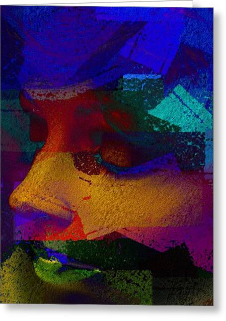 Manikin Art Greeting Card by David Taylor