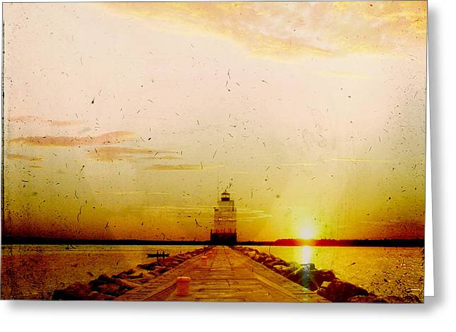 Manitowoc Breakwater Lighthouse Greeting Card