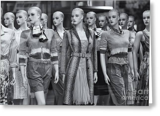 Mannequins II Greeting Card