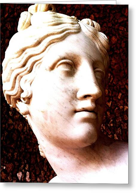 Marble Sculpture Greeting Card by Paul Washington
