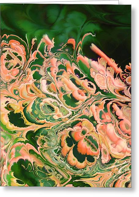Marbled Greeting Card