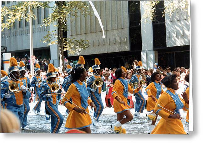 Greeting Card featuring the photograph Marching To A Different Drumer by Tanya Tanski