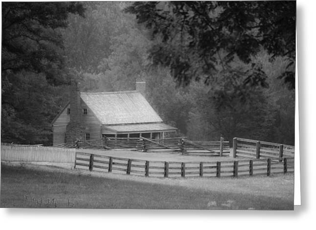 Mariah Wright House Appomattox Virginia Greeting Card by Teresa Mucha
