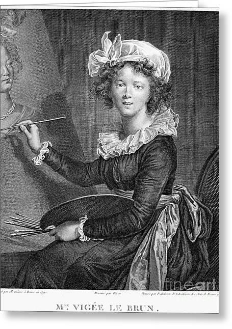 Marie Anne Vigee-lebrun Greeting Card by Granger