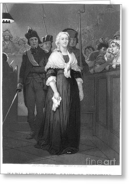 Marie Antoinette Greeting Card by Granger