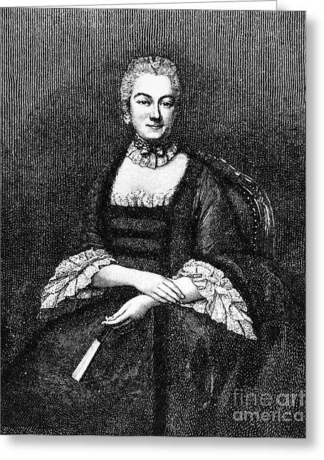 Marie De Vichy-chamrond Greeting Card by Granger