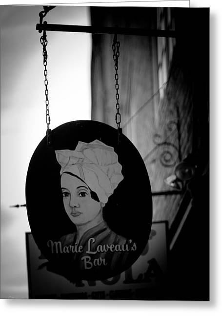 Marie Laveau's Bar Greeting Card