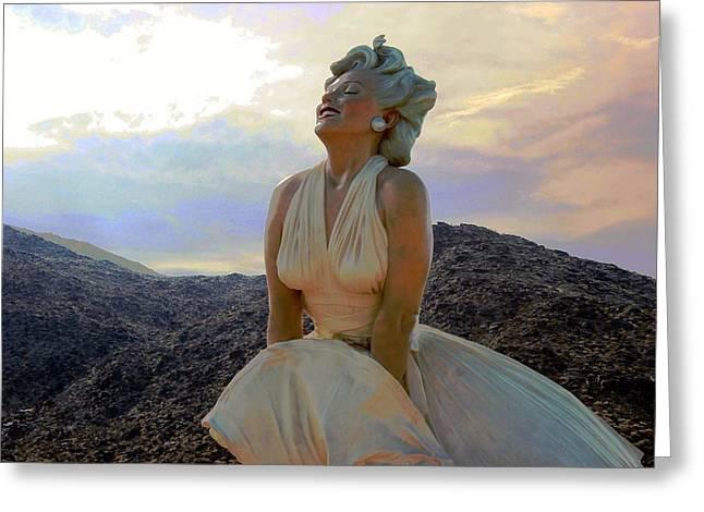 Marilyn's Euphoria Greeting Card