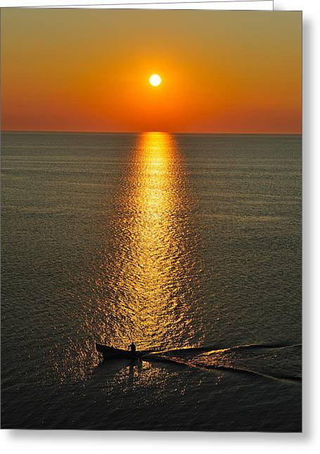 Maritime Sunrise Greeting Card
