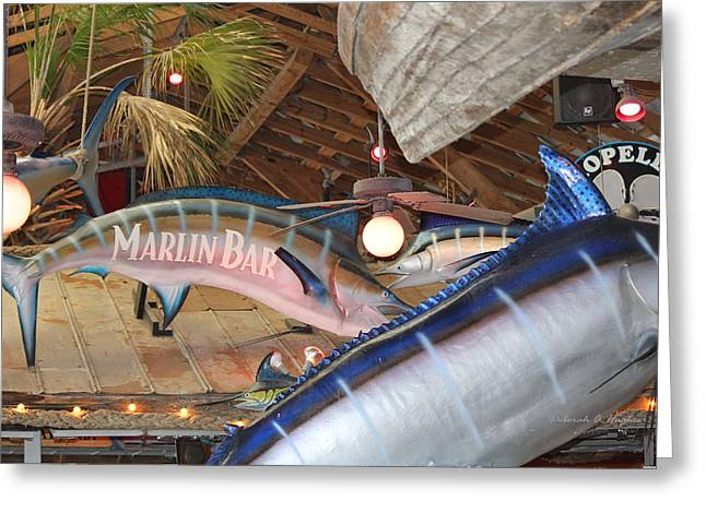 Marlin Bar Greeting Card