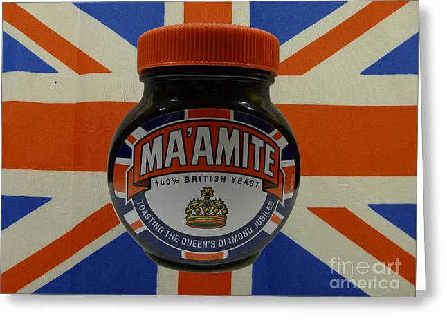 Marmite The Growing Up Spread Greeting Card by Richard Reeve