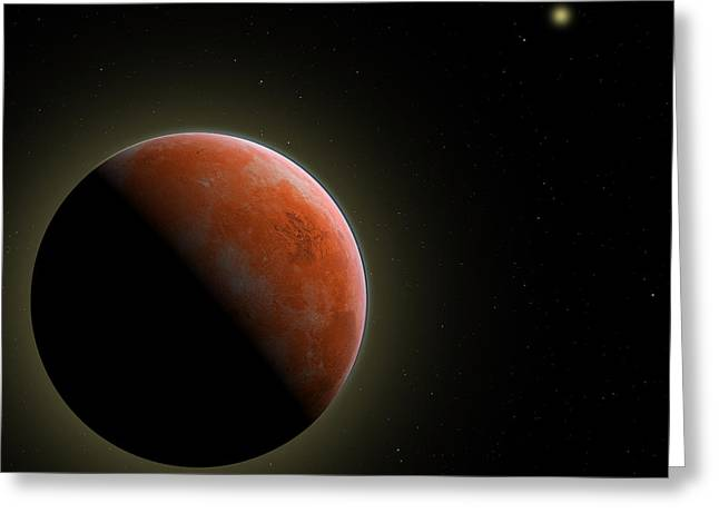 Mars - The Red Planet Greeting Card