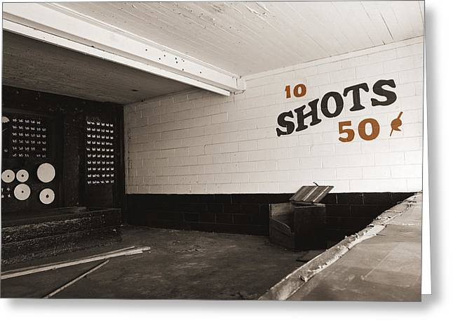 Marshall Hall Shooting Gallery Greeting Card by Jan W Faul