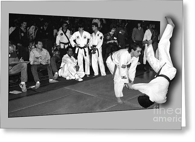 Sport martial arts greeting cards page 9 of 17 fine art america martial arts 4 greeting card m4hsunfo