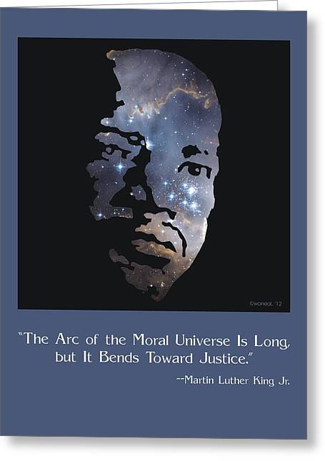 Martin Luther King, Jr. Poster Greeting Card