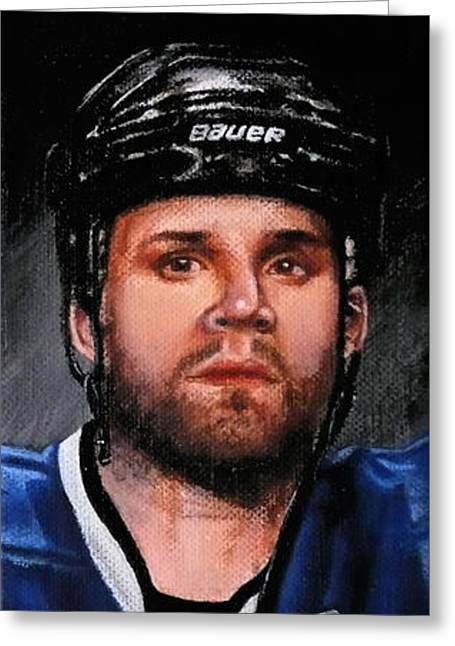 Marty St. Louis Greeting Card by Marlon Huynh