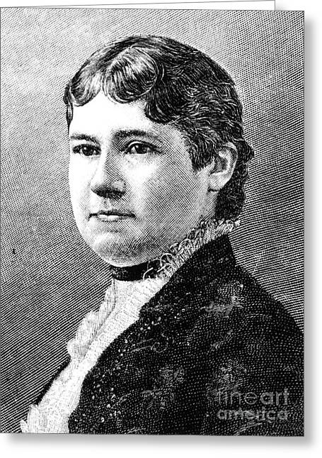 Mary Arthur Mcelroy Greeting Card by Granger