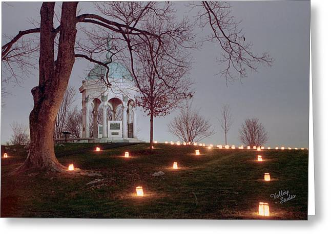 Maryland Monument 11 Greeting Card