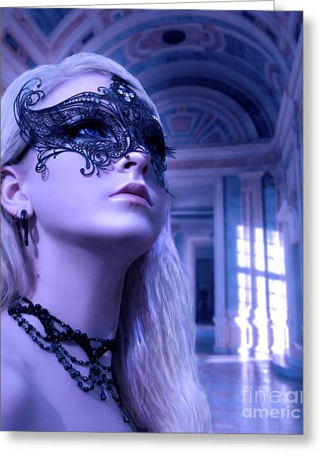 Masquerade Ball  Greeting Card by Eugene James
