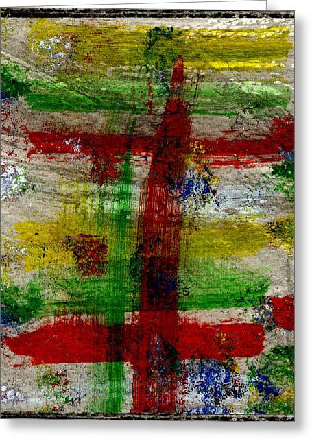 Mast On Fire Greeting Card by Kimanthi Toure