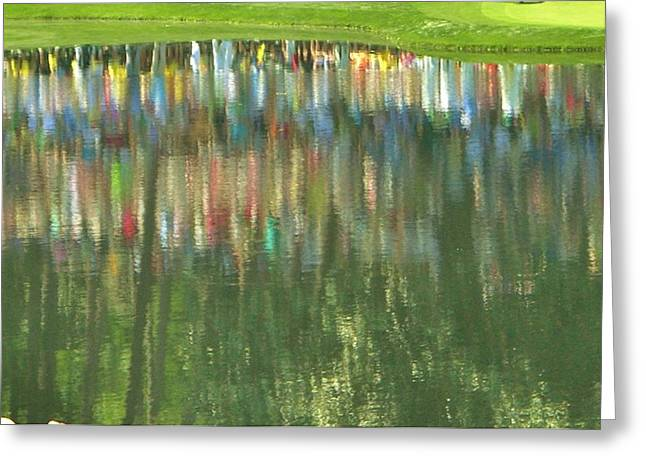 Master Reflection Greeting Card by Sharon Farris